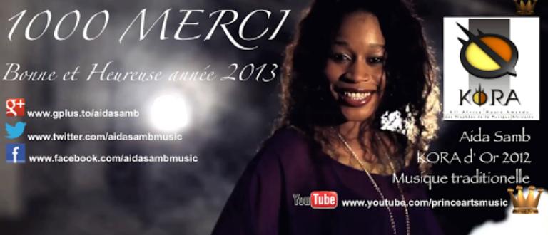 Article : Aida Samb : Meilleur artiste féminin de l'Afrique de l'ouest en musique traditionnelle
